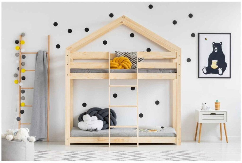 Gyerekszoba-Skandináv emeletes ágy