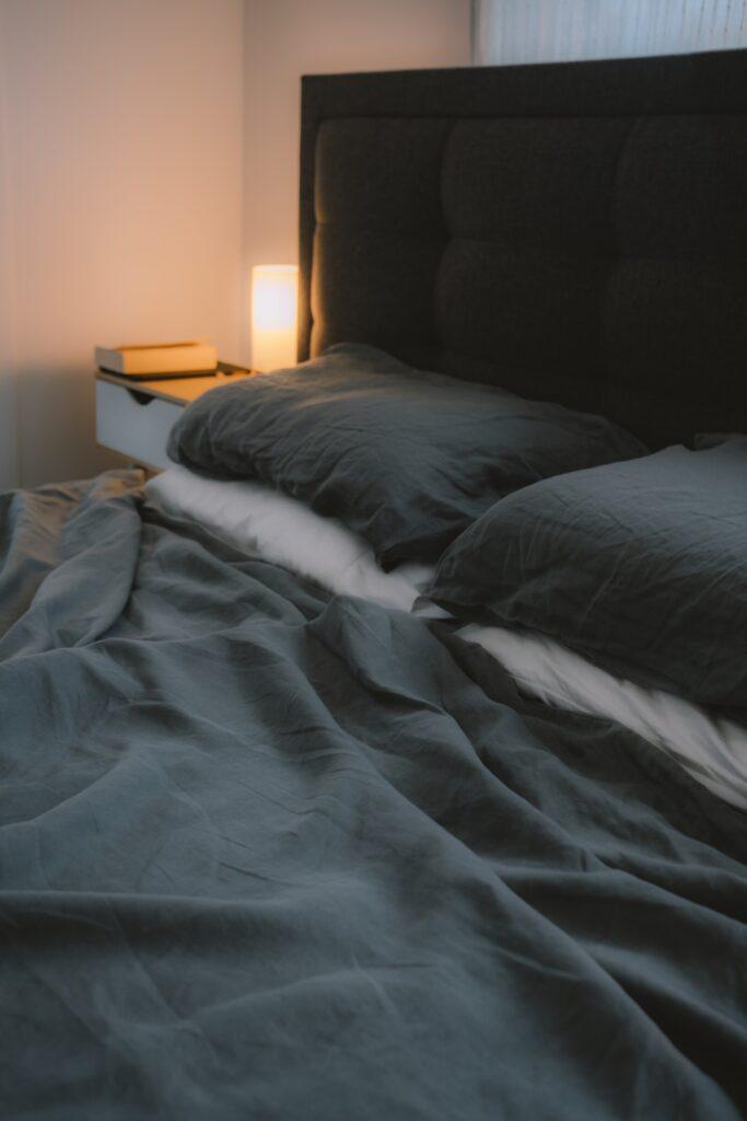 Sötét ágyneműhuzat