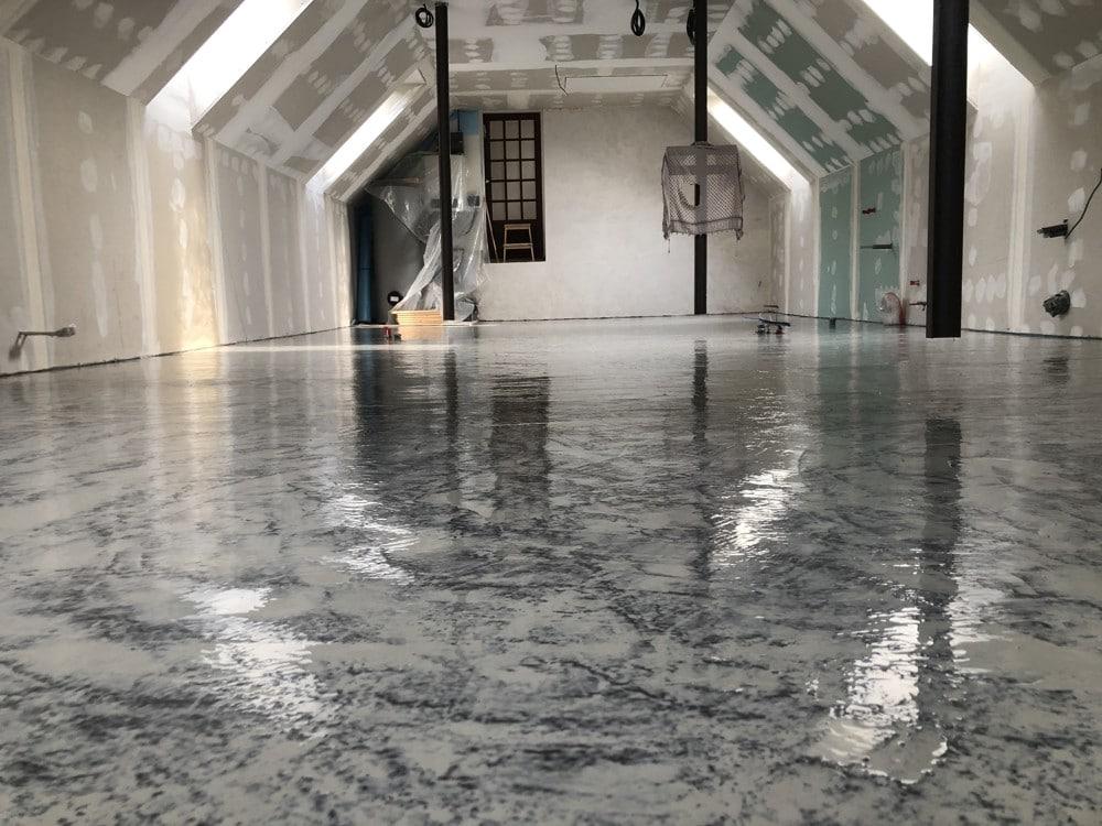 márvány epoxi padlóburkolat